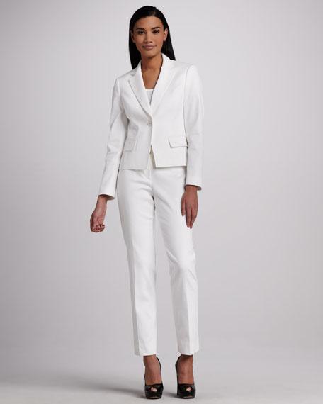 Pique Pant Suit