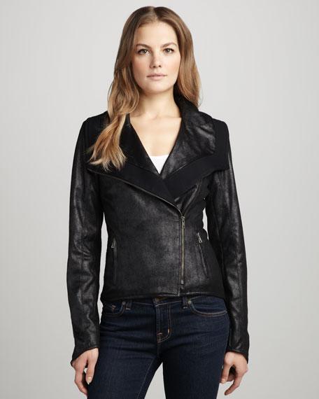 Burton Faux-Leather Jacket