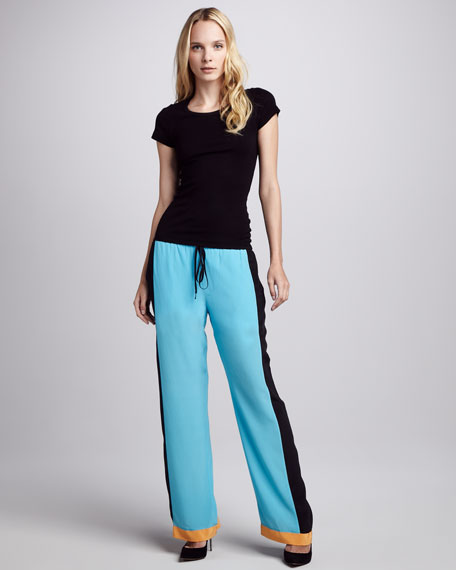 Willow Colorblock Drawstring Pants