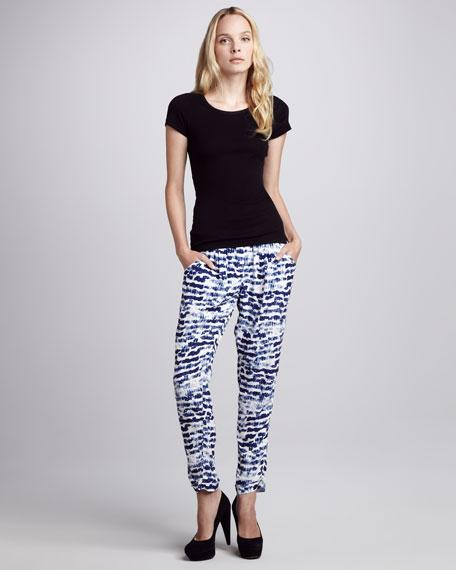 Vivian Printed Drawstring Pants