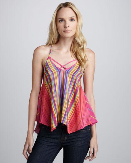 Spyder Rainbow-Stripe Cami