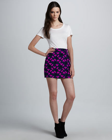 Baja Jigsaw Miniskirt