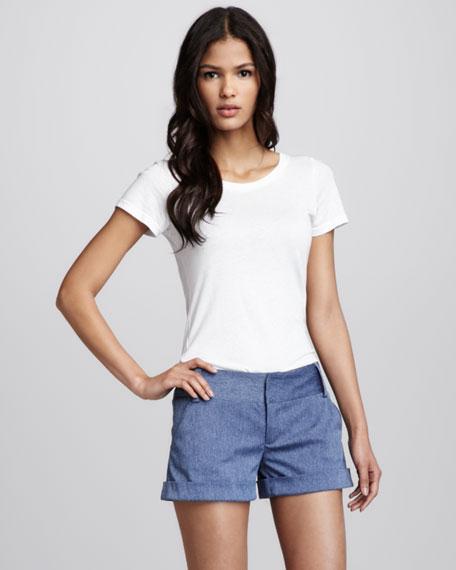 Cuffed Cady Shorts