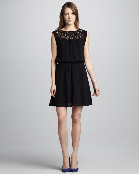 Josephina Lace-Top Dress