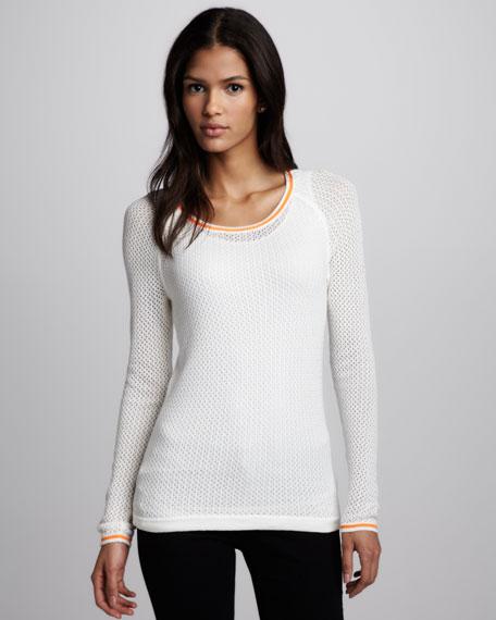 Skyler Mesh Sweater