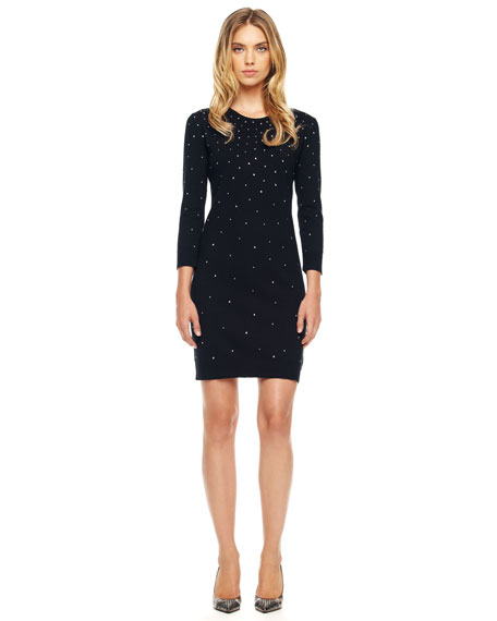 Studded Sweaterdress, Women's