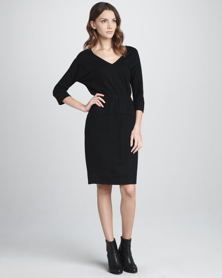 Fiona Relaxed Wool Dress