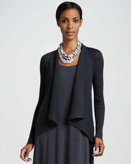 Shawl-Collar Cardigan, Women's