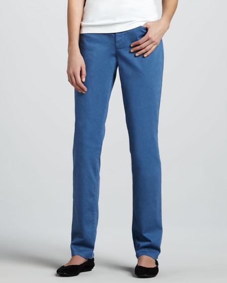 Straight-Leg Jeans, Lupine