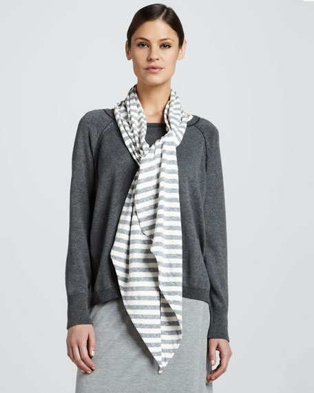 Striped Parallelogram Scarf