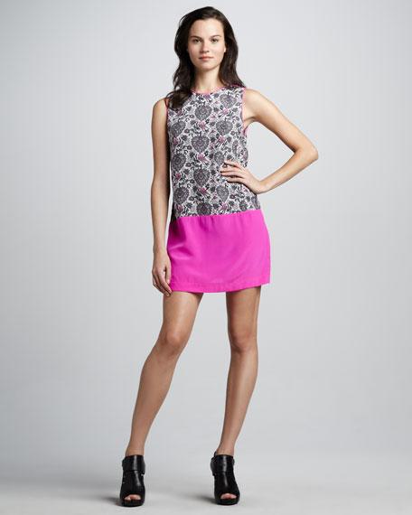 Lovebird Colorblock Shift Dress