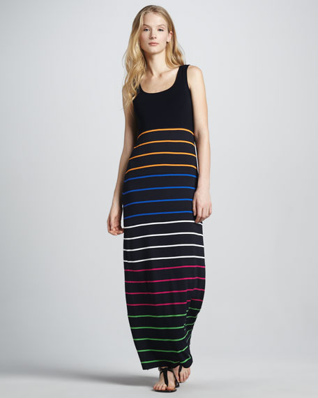 Endurance Striped Maxi Dress