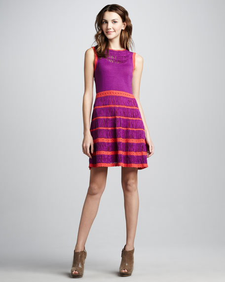 Fantastical Sleeveless Knit Dress