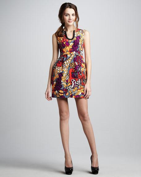 Animal Show Printed Dress