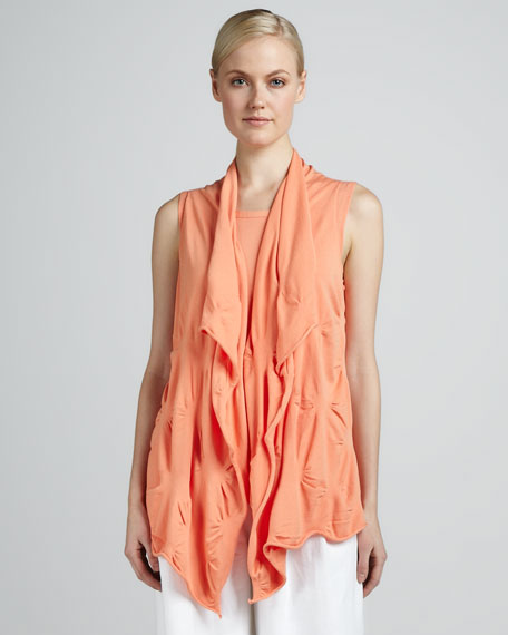 Puckered Cascade Vest