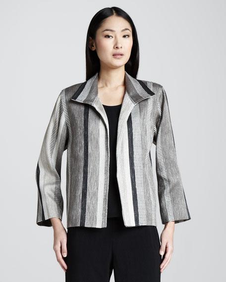 Jacquard-Stripe Jacket