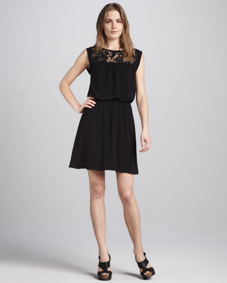 Josephina Lace-Top Dress
