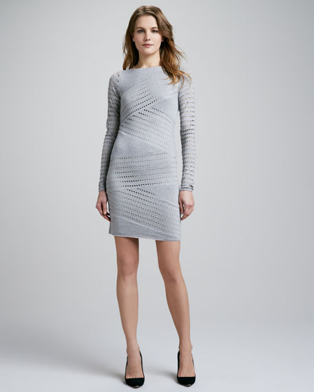 Tower of Babel Perforated Dress