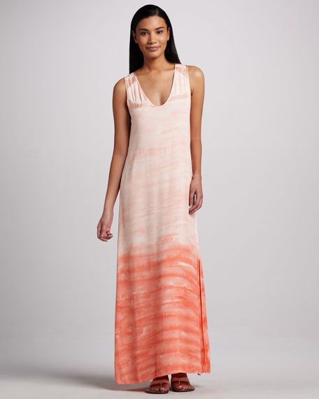 Hancock Ombre Crepe Dress