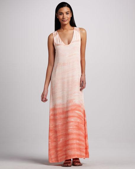 Hancock Ombre Crepe Dress