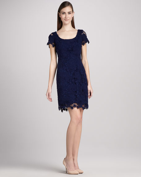 Marta Lace Sheath Dress