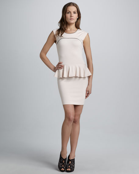 Valencia Peplum Dress