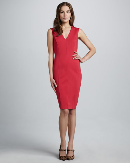 Mila Fitted Stretch Dress