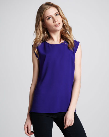 Polly Plains Georgette Top