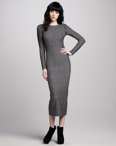 Zella Long Ribbed Dress
