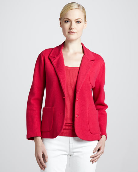 Cotton-Cashmere Blazer