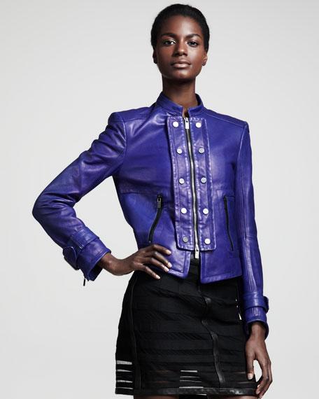 Automata Leather Jacket