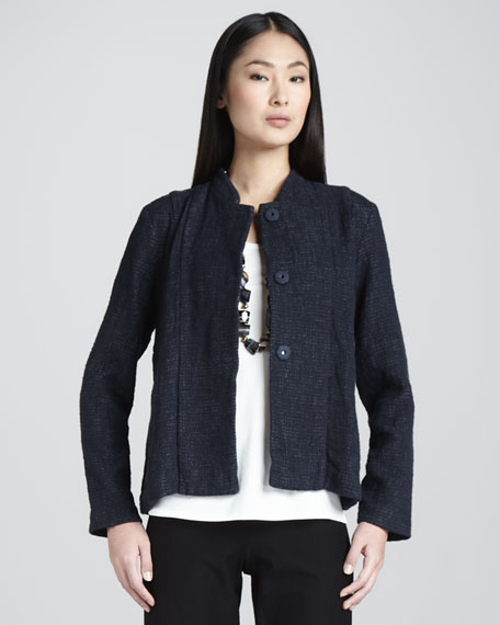 Tweed Cropped Jacket, Women's