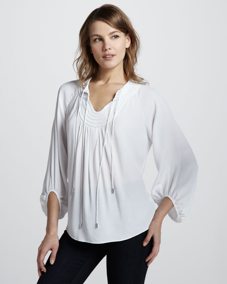 Acquilina Blouse, White
