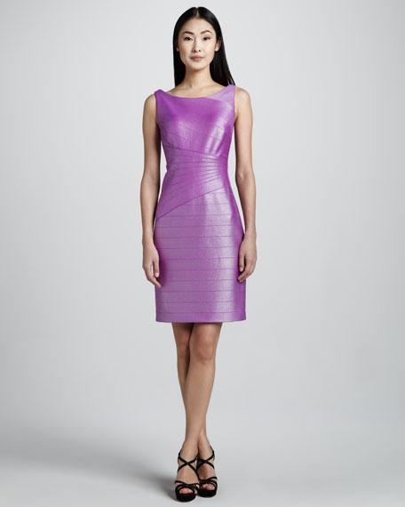 Glazed Knit Cocktail Dress