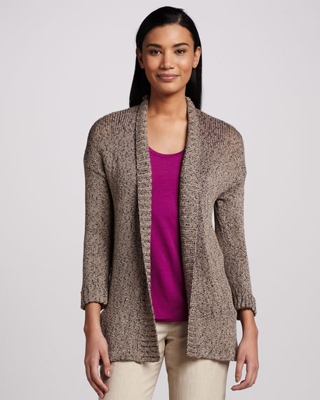 Relaxed Open Cardigan
