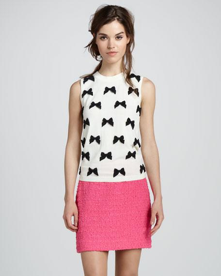 robbie tweed miniskirt