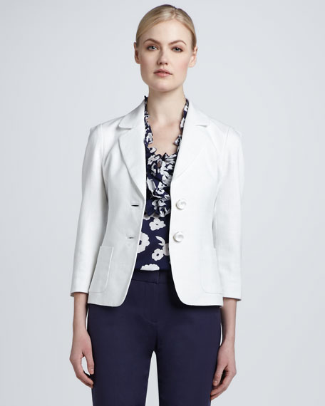 alix two-button jacket