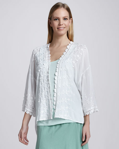 Pasadena Embroidered Voile Jacket