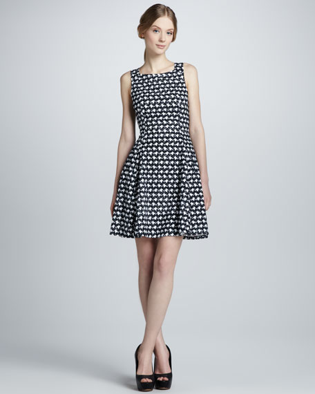 Whirling A-Line Dress