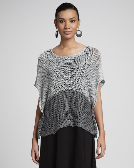 Open-Twist Knit Crop Top