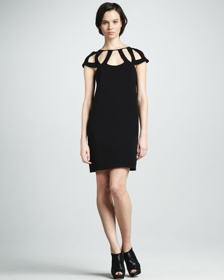 Achava Dress with Cutout Detail