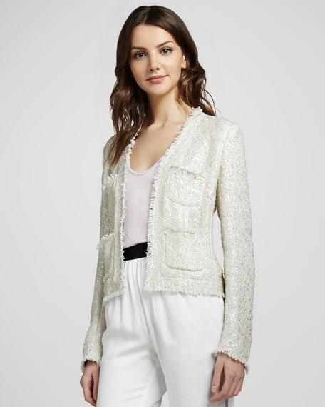 Short Frayed Jacket