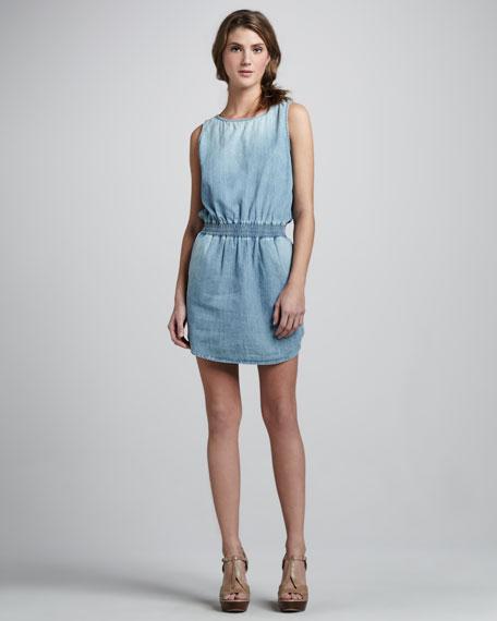 Joni Denim Sleeveless Dress