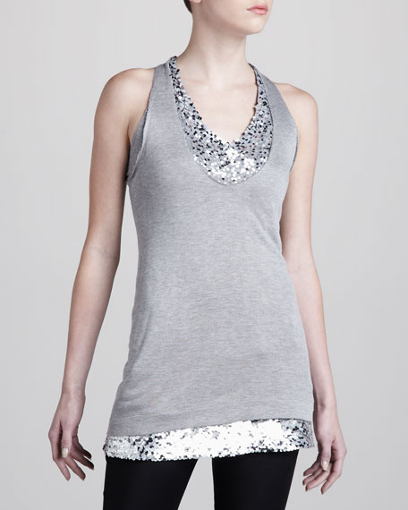 Sequin-Layer Tunic