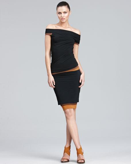 Layered Colorblock Skirt
