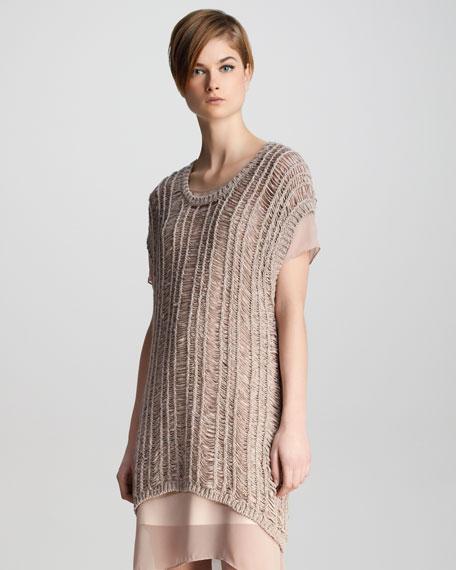 Greta Loose-Weave Sweater
