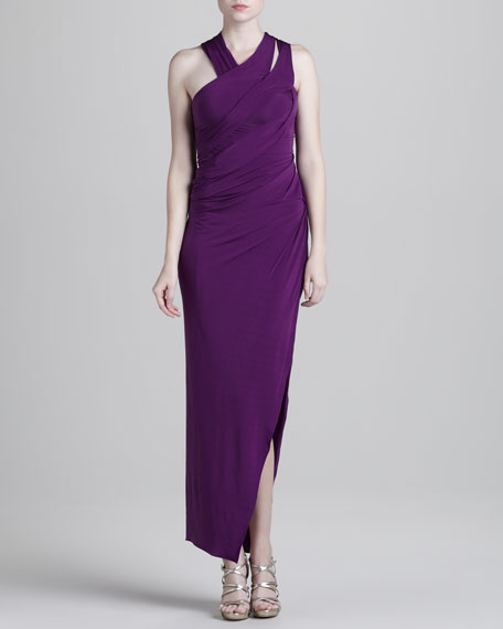 Sleeveless Twist Dress