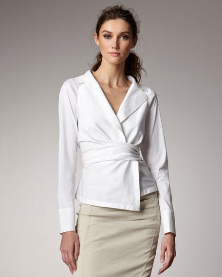Poplin Shirt Jacket