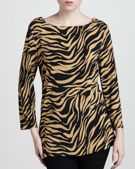 Zebra-Print Tunic