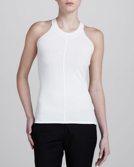 Taped Racerback Top